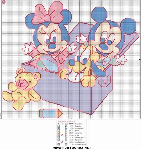 Dibujos animados de punto con cruz punto de cruz - Dibujos para hacer punto de cruz ...